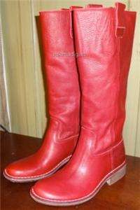 Leather Womens Western Boots Tall Kickers Seventy2 Size 38 NIB