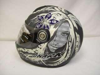 Shark RSF3 Mint Skull Motorcycle Helmet Size Large $349.95