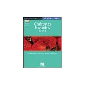 Hal Leonard Adult Piano Method Christmas Favorites Book 2