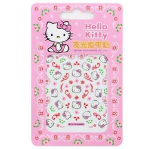 Hello Kitty Nail Decal Stickers Flower Motifs Toys & Games