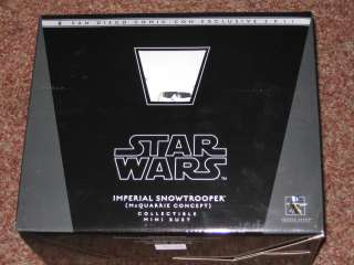 SDCC STAR WARS GENTLE GIANT IMPERIAL SNOWTROOPER BUST