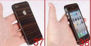 White Carbon Fiber Decal Skin Sticker Cover Protector For Apple Iphone