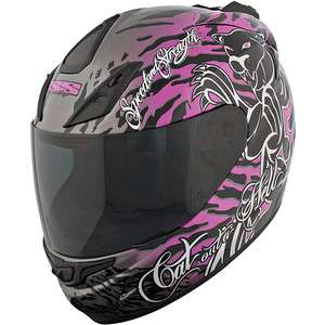 Speed and Strength SS1000 Ladies Full Face Helmet Cat Outa Hell
