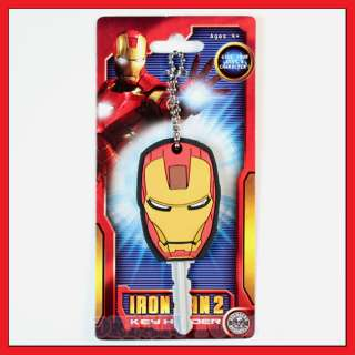 Marvel Iron Man 2 Key Holder   Standard Key Cap Chain