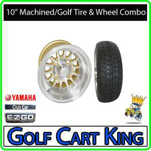 Phoenix Gold Low Profile Golf Cart 10 Wheel/Tire Combo