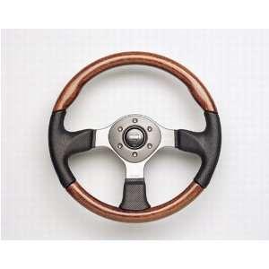 Fighter Zebrano Steering Wheel wHub Adapter Automotive