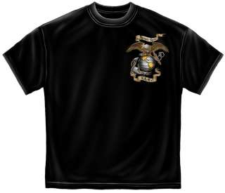 Semper Fi T Shirt eagle Marine Corps army military Tee MM107B