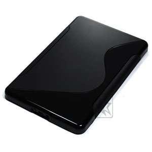 Case Star ® Black TPU (soft gel) wave pattern case/cover