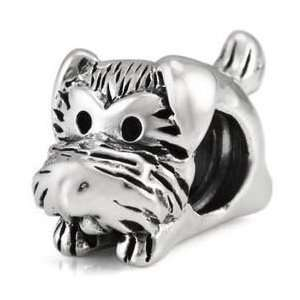 Cute Puppy Dog 925 Solid Sterling Silver Authentic Ohm