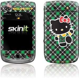 Hello Kitty Green Plaid skin for BlackBerry Torch 9800