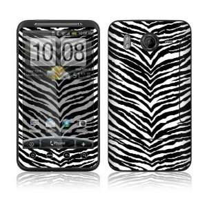 Black Zebra Skin Decorative Skin Cover Decal Sticker for HTC Desire