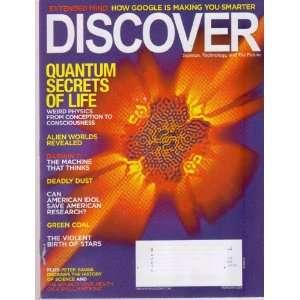 Feb 2009 *DISCOVER* Magazine Featuring, The QUANTUM