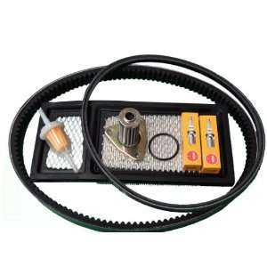 EZGO TXT Gas Golf Cart Tune Up Kit (94 05) w/Oil Filter