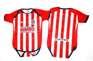 Guadalajara Chivas Baby Toddler Infant Jersey WITH NAME