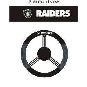 Oakland Raiders Car/Truck/Auto Steering Wheel Cover