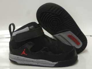 Nike Air Jordan Flight TR 97 Black Cement Grey Sneakers Infant Toddler