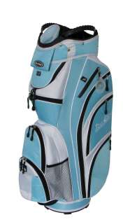NEW Tour Edge HT MAX D LADIES CART BAG   LIGHT BLUE/WHITE