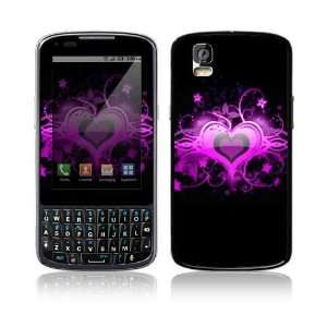 Motorola Droid Pro Skin   Glowing Love Heart