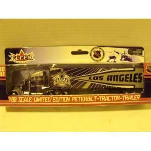 NHL 180 Los Angeles Kings Peterbilt Tractor Trailer Toys & Games