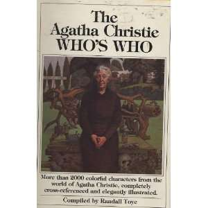 Cross Referenced and Illustrated Agatha Christie, Randall Toye Books
