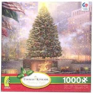 Thomas Kinkade Christmas in New York City 1000pc Jigsaw
