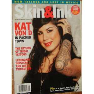 Skin & Ink Magazine Tribal Tattoos (August, 2007): staff