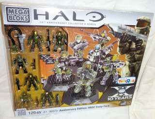 Mega Bloks 96970 Halo X Anniversary Edition UNSC Troop Pack Toys R Us