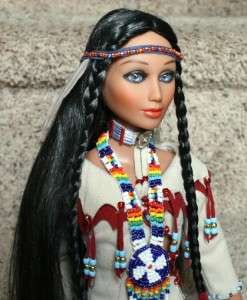 This auction is for a Eagle Medicine Woman Native American Indian 16