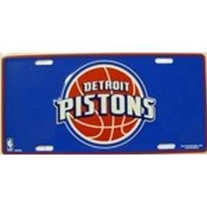 Detroit Pistons NBA License Plate Plates Tag Tags auto vehicle car