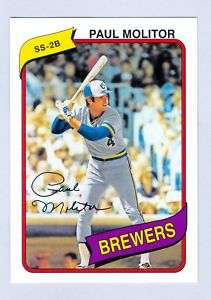 2011 Topps 60 Years of Topps #29 Paul Molitor Brewers