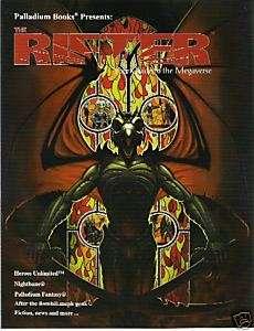 Palladium  Rifter Magazine #16 Rifts, Heroes Unlimited