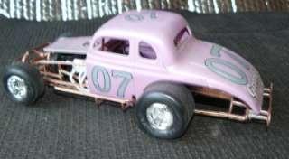 24  1/25 built model modified race car