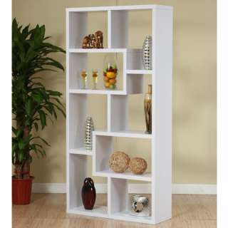Modern Wood Bookcase / Display Cabinet