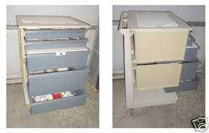 Medical Dental Equipment Mobile Cabinet Cart Medeco