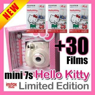INSTAX Mini 7s HELLO KITTY Polaroid Camera + 30 Films C 659096711774