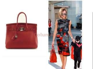 Shoulder Tote Boston Bag Handbag HOLLYWOOD Red White Blue Black HB14