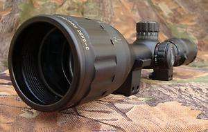 LEAPERS 3 9x50 Parallax RGB Illuminated MilDot Rifle Scope + Mount