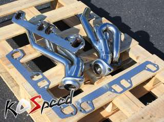 STAINLESS STEEL EXHAUST HEADER 94 04 DODGE RAM/DURANGO/DAKOTA V8 5.2