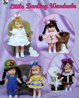 Crochet Little Darling Doll Wardrobe Annie Potter OOP