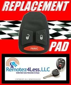 REMOTE KEY KEYLESS FOB REPLACEMENT BUTTON PAD REPAIR