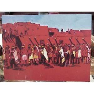 Indians, Cowboys, Women & Flowers Paintings, Lithographs