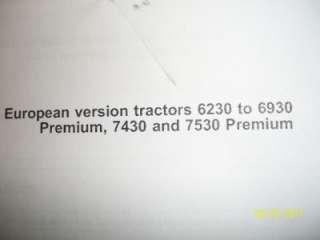 JOHN DEERE AL170401 Hydraulics, rear selective control