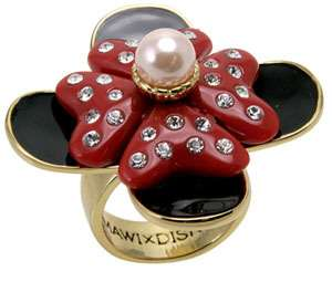 Disney Couture MAWI London Double Minnie Mouse Bow Ring Limited