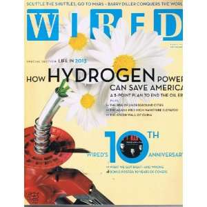 WIRED MAGAZINE APRIL 2003 HOW HYDROGEN POWER CAN SAVE