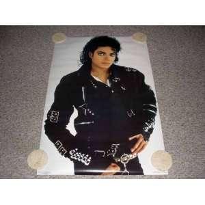 Michael Jackson BAD 1987 Vintage Poster