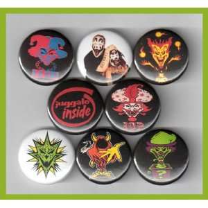 Insane Clown Posse ICP Set of 8   1 Inch Magnets