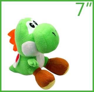 New super mario bros green yoshi 7plush doll toy M7