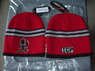 ICP INSANE CLOWN POSSE LOGO RIBBING BEANIE SKI HAT CAP