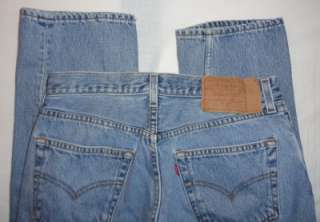 Levi 501 Button Fly Mens Jeans Size 32 (32X34)