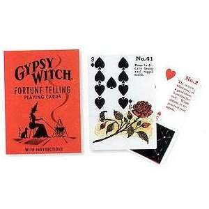 Gypsy Witch Fortune Telling Playing Card:  Home & Kitchen